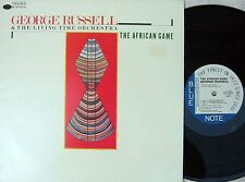 George Russell & Living Time Orchestra ORIG OZ LP NM '85 Bluenote Jazz Post Bop