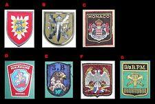 E - 1 (Unos) x Patch insignia ejército militar policia