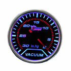 "2"" 52mm Smoke Len LED Indicator Pointer Car Motor Vacuum Meter Gauge AU"