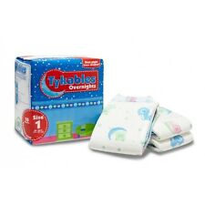 Pack of 10 Tykables Overnights Size 1 - Vintage Adult Diapers