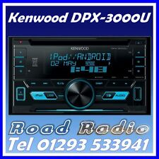 KENWOOD DPX-3000U CD MP3 AUX USB IPOD IPHONE controllo doppio DIN STEREO AUTO