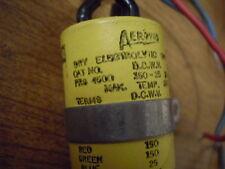 Aerovox PRS 4500 Triple Dandee Dry Electrolytic Capacitor 50 30 20 uf 150 25 VDC