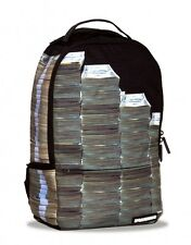 Brand New SPRAYGROUND Money Stacks Black Deluxe Bag Backpack