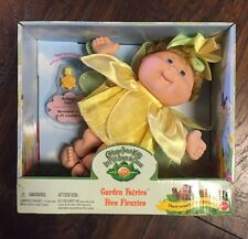 "Rare NEW 1998 Cabbage Patch Kids ""Garden Fairies"" Daffodil Doll w/Magical Charm"