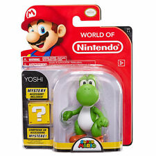 "Nintendo Super Mario World of Nintendo 4"" Yoshi Figure"