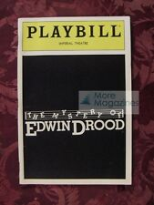 PLAYBILL July 1986 The Mystery of EDWIN DROOD Loretta Swit George Rose
