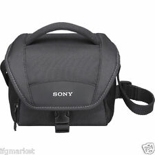NEW SONY Camera Bag LCS-U11 Mirrorless Camera Shoulder Strap Padded Bag Black