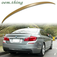 BMW 5-Series F10 M5 TYPE BOOT REAR TRUNK LIP SPOILER ABS 528i 520i 15