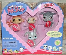 Littlest Pet Shop HEART VALENTINE w tags Exclusive 279 280 281 282 HTF