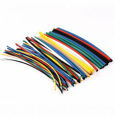 70Pcs Mixed Pack Assorted Heat Shrink Tubing Electrical Insulation Sleeving Wrap