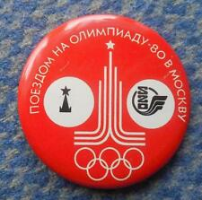 OLYMPIC MOSCOW 1980 PIN BADGE