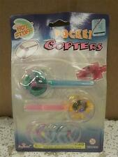 NEW TOY CLOSEOUTS- 1.49 EACH- MIX & MATCH- POCKET COPTERS- L14