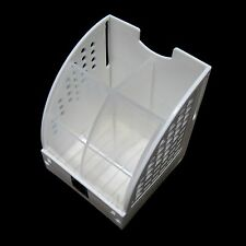 New 4 Divided Stationary Organizer Stand Free Standing Desk Holder Office White