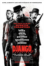 Django Unchained Intl B Double Sided Original Movie Poster 27x40 inches