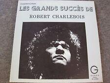RARE ROBERT CHARLEBOIS LES GRANDS SUCCES DOUBLE ALBUM   LP