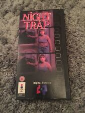 Night Trap 3DO Game With Instructions Panasonic