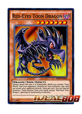 YUGIOH x 1 Red-Eyes Toon Dragon - SHVI-EN036 - Super Rare - 1st Edition Near Min