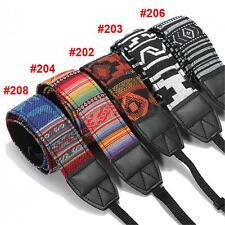 Vintage SLR DSLR Camera Shoulder Neck Strap Belt for Canon Nikon Pentax Sony UK