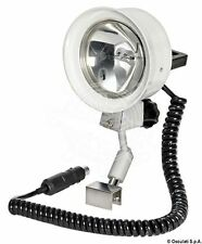 Osculati High Intensity Utility High-Beam Light 100W 12V with Windscreen Bracket
