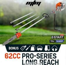 62CC Long Reach Pole Chainsaw 3.4hp Petrol EURO 2 - Two Stroke Commercial
