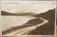 Irish RPPC Postcard KILLARY BAY Connemara Mayo Galway Ireland Milton Woolstone