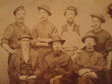 ANTIQUE CIVIL WAR ERA PICTURE FRAMER FURNITURE MAKER CIGAR LEWIS KEELER IL PHOTO