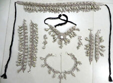 KUCHI TRIBAL COWRIE BELT NECKLACE ARMLET ANKLET HEAD PIECE BELLY DANCE LOT NEW