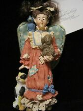 Pet Angel Ornament Dog Cat & Bird Animal Lovers Ornament House Of Lloyd