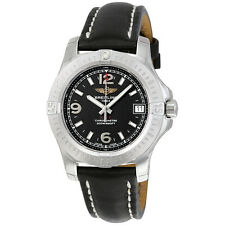 Breitling Colt 36 Black Dial Ladies Watch A7438911-BD82BKLT