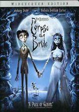 Tim Burton's Corpse Bride [WS] (2008, DVD NEW) CLR/WS