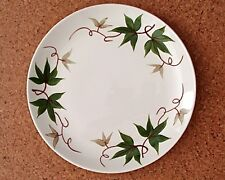 """Vintage Hand Decorated Steubenville Pottery Ivy Pattern Dinnerware 10"""" Plate"""