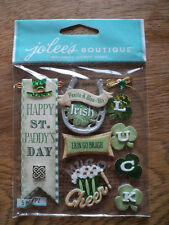 EK SUCCESS JOLEE'S BOUTIQUE IRISH WORDS & PHRASES DIMENSIONAL STICKERS BNIP