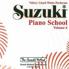 Piano School CD V 6 Watts Vol 6 by Valery Lloyd-Watts and Shinichi Suzuki...