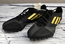 Men's Adidas Track & Field Shoes Size 7 NO Spikes Arriba 3 M UK6.5 Black Gold