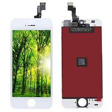 Para iPhone 5S LCD y Pantalla Táctil Frontal blanco Digitizer Assembly A++