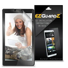 """3X EZguardz LCD Screen Protector Skin HD 3X For Sky 7.0W 7"""" Tablet (Ultra Clear)"""