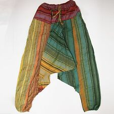 Victoria pants with Bag,Harem pants,Baggy trousers S-XL,India Goa Psy Rasta