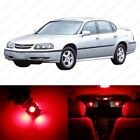 12 x Red LED Interior Light Package For 2000-2005 Chevrolet Chevy Impala