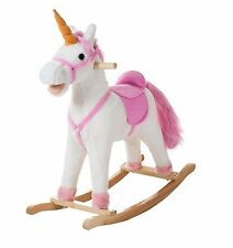 Happy Trails Aurora the Unicorn Rocking Horse