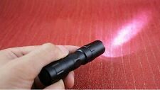 Free Shipping Mini 3W LED Bright Flashlight Handy Light Small Torch Lamp Black