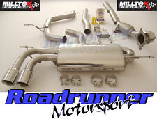 Milltek Golf GTi MK5 Edition 30 Turbo Back Exhaust System Non Res & Decat GT80