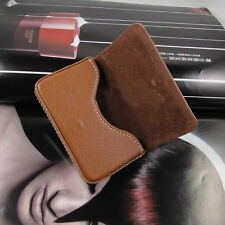 New Arrival  PU Leather Luxury Business Name Card Holder Case Bag Wallet Gifts