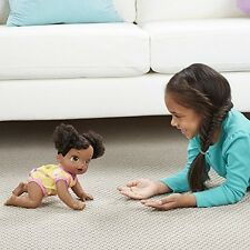Baby Alive Baby Go Bye Bye (African American) Doll Girls Christmas Gift NEW