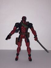 "RARE Marvel Legends Series 6 Deadpool Wade Wilson 6"" Action Figure ToyBiz 2003"