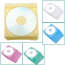 100Stück CD DVD DISC VCD Hülle Tasche Aufbewahrung Beutel Schutzhüllen Neu
