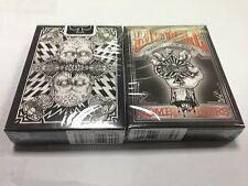 1 Deck BICYCLE Zombie Rider Black Playing Cards Deck New