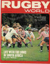 RUGBY WORLD MAGAZINE FEBRUARY 1974 - PERFECT GIFT FOR A FAN BORN IN THIS MONTH