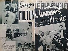 """LE FILM COMPLET 1937 N 2009  """" LES HOMMES DE PROIE """"  JEANNE BOITEL et JEAN MAX"""
