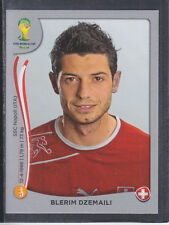 Panini - Brazil 2014 World Cup - # 348 Blerim Dzemaili - Switzerland - Platinum