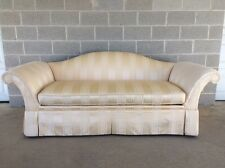KINDEL/BEACON HILL CAMEL BACK SKIRTED FORMAL SOFA /SETTEE/COUCH HIGH QUALITY